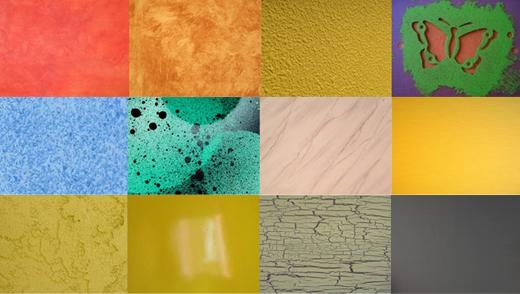 T cnicas para pintar paredes universal - Tipos de pintura para pared ...