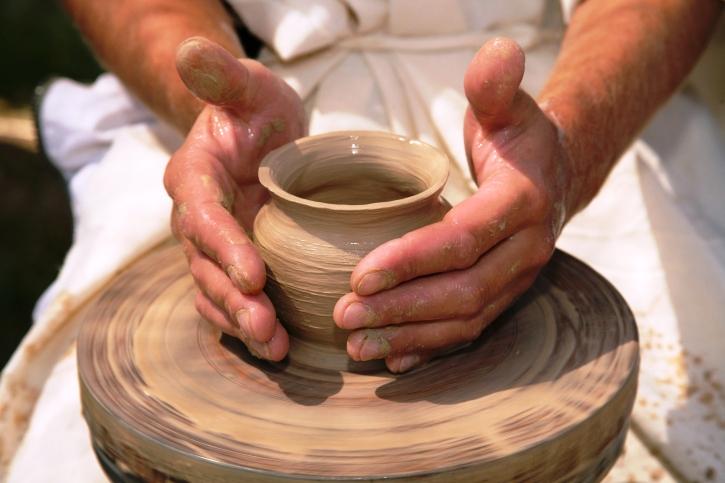 Costumbres de la biblia la cer mica universal - Cocinar en sartenes de ceramica ...