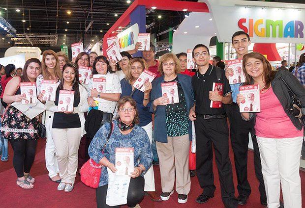 Lanzamiento de Nada que perder 3 en la Feria del Libro
