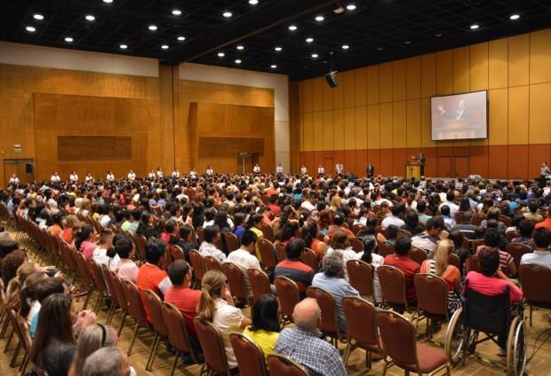 Noche de la Salvación en  el Centro de Convenciones de la Conmebol