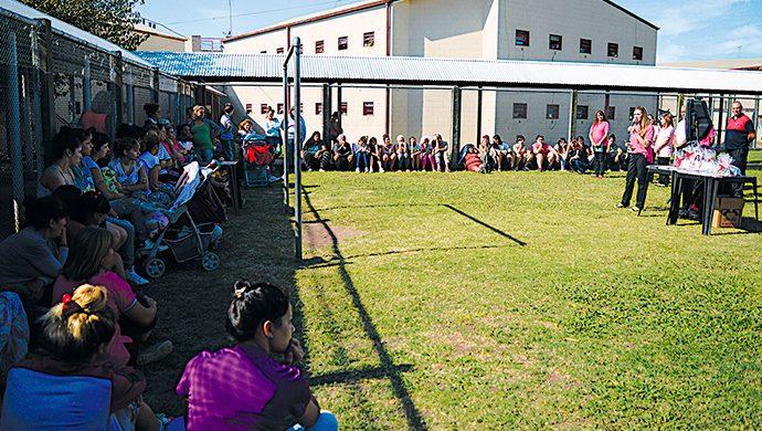 El Grupo de Evangelización Carcelaria Femenino visitó la Unidad 33