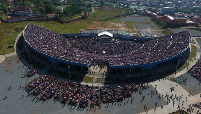 """""""Mi vida de nuevo"""" reúne a 60 mil personas en Madagascar"""