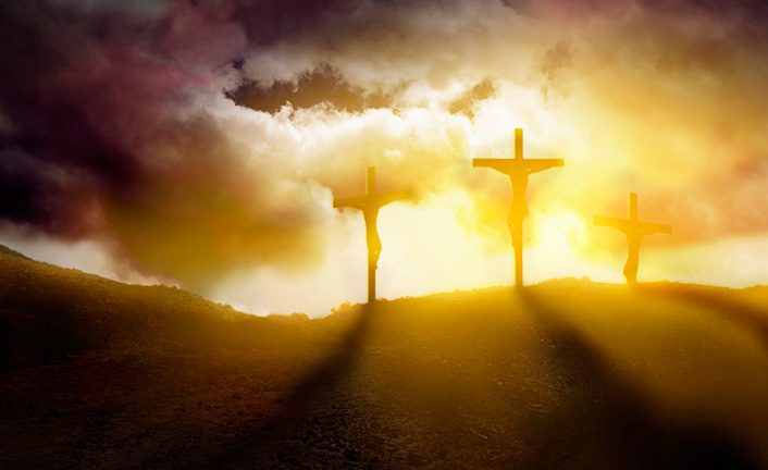 Não perca o Sacrifício de Cristo de vista!