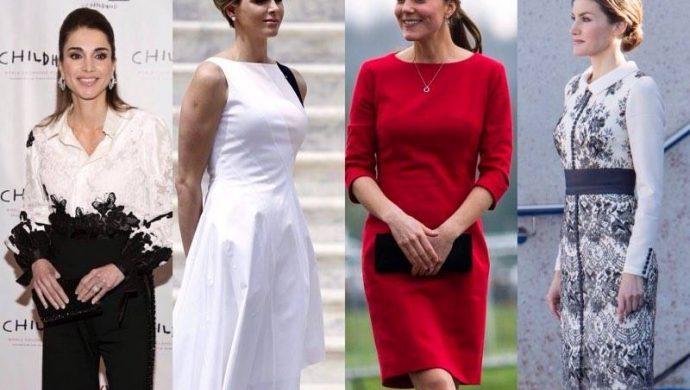 Cómo se visten las mujeres de la realeza