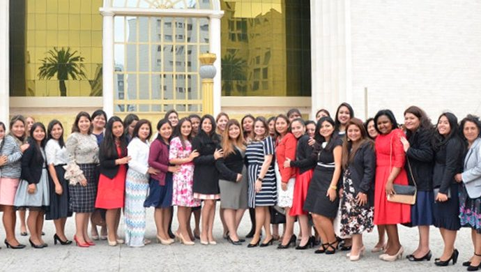 1.000 mujeres en el Templo de Salomón