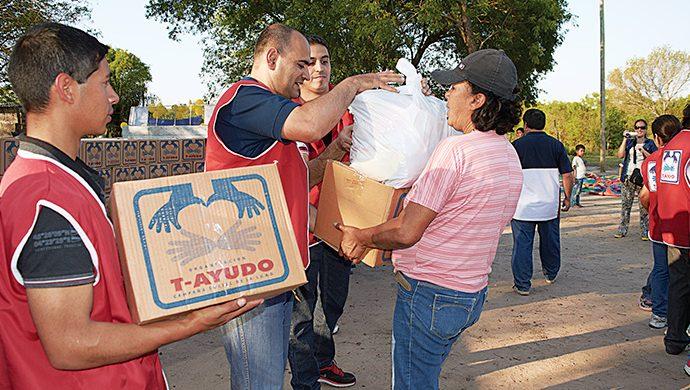 Corrientes recibió casi 3 toneladas de alimentos