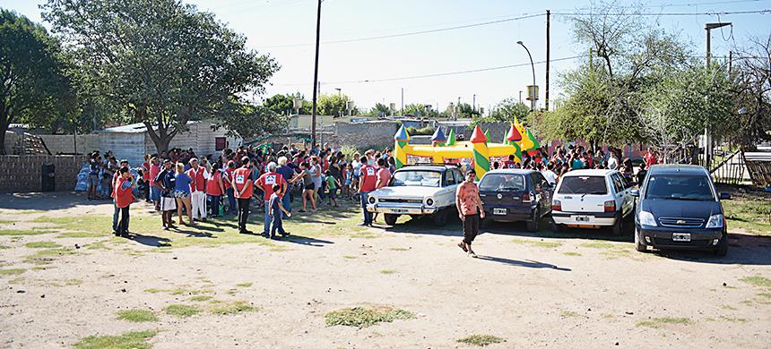 Villa La Carmencita recibió más de 3 toneladas de alimentos