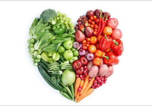 Más frutas y verduras, para proteger el corazón