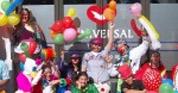 Fuerza Joven evangeliza hospital de niños