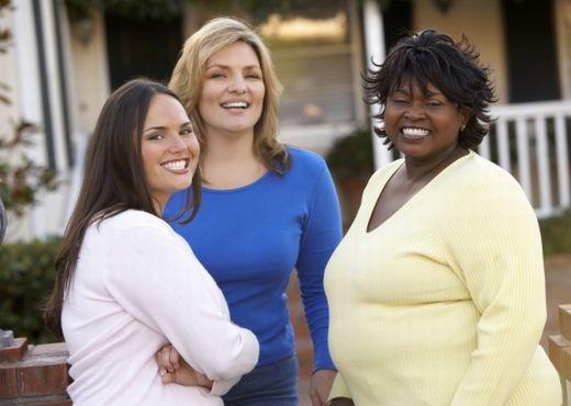 Las mujeres engordan con más facilidad que los hombres