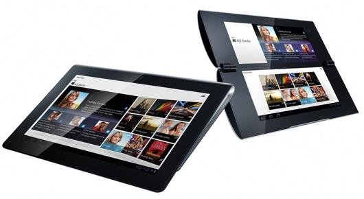 Sony presenta sus tablets