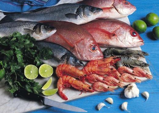 Comer pescado es bueno para la vista