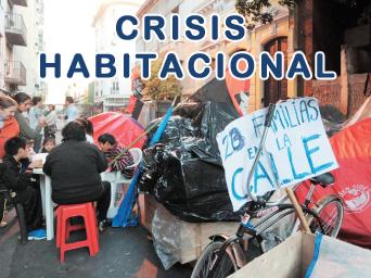 Los edificios tomados y la crisis habitacional