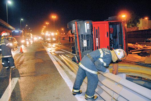 Camiones: peligro en las rutas