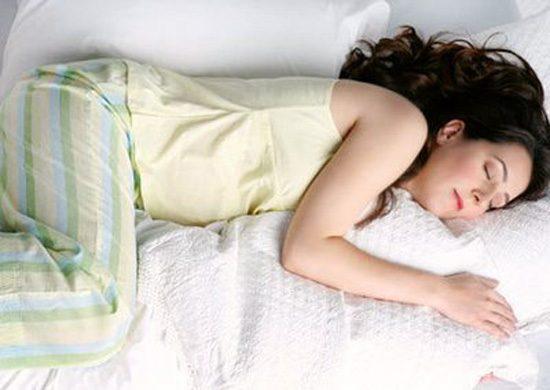 La postura al dormir