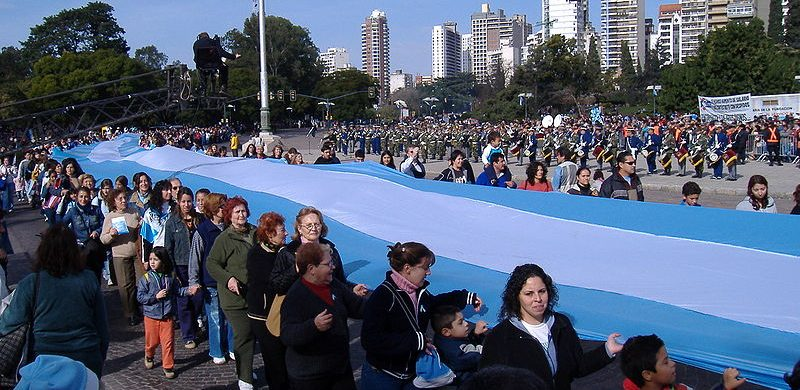La bandera más grande del mundo