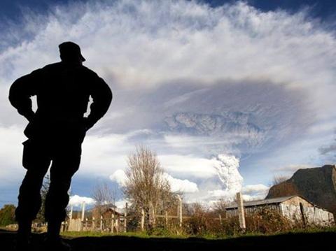 Las cenizas volcánicas pueden irritar
