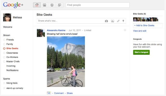 Google+, la nueva red social