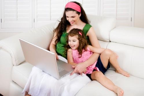 Mamas, dueñas de la internet