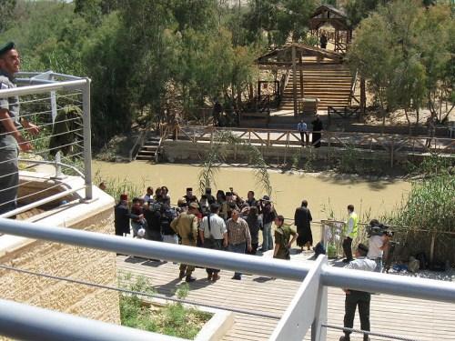 El lugar donde fue bautizado Jesús, se reabre al público