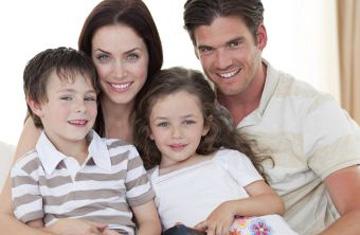 Pudieron formar una familia feliz