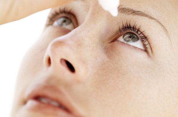 Ojos secos: sin lagrimas