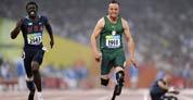 El primer atleta amputado que compite contra atletas sin problemas físicos
