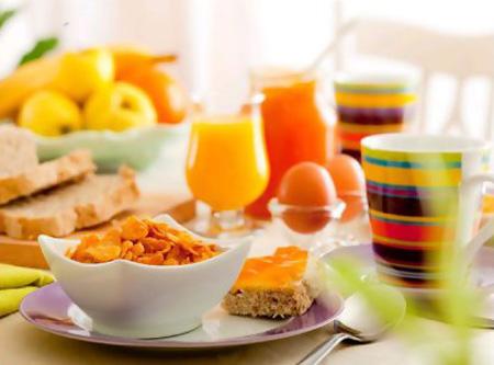 Desayunos vegetarianos