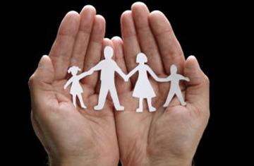 Coloque a su familia en las manos de Dios