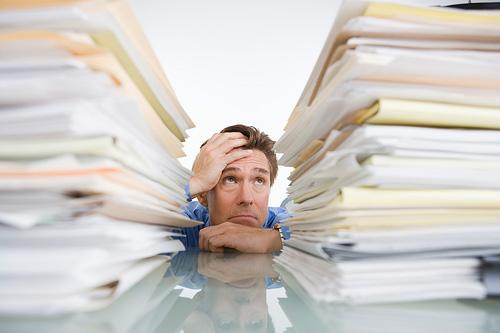El estrés de la oficina puede afectar tu relación