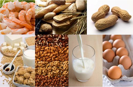 La alergia a algunos alimentos