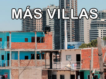 Siguen creciendo las villas