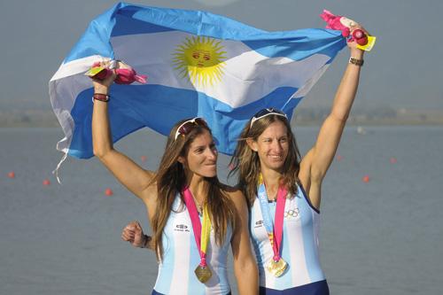 Argentina suma una medalla más de oro en remo