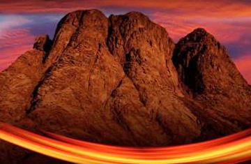 El Sinaí determina el fin de la oscuridad y el comienzo de una vida iluminada
