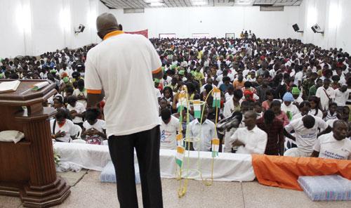 Fiesta en Costa de Marfil