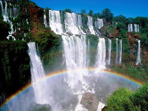 Las Cataratas del Iguazú fueron consagradas como una de las 7 maravillas
