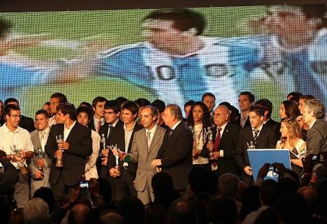 Messi gana el premio al mejor deportista por primera vez