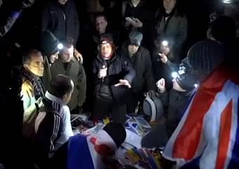 Hoguera Santa: Clamor por los pedidos en el Sinaí