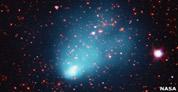 Un telescopio de Atacama detecta un enorme grupo de galaxias