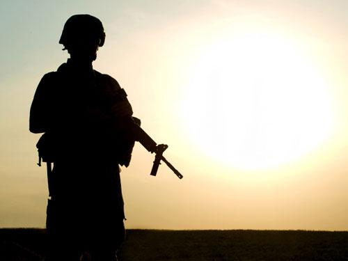 Soldado en su propia guerra