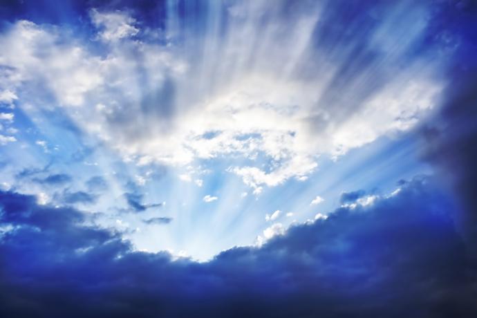 el cielo lugar de morada eterna universal