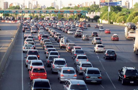 El caos llamado tránsito