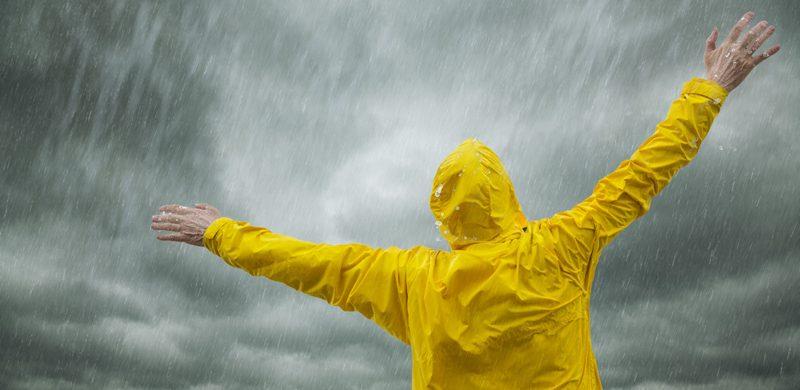 Lluvia: señal de bendición