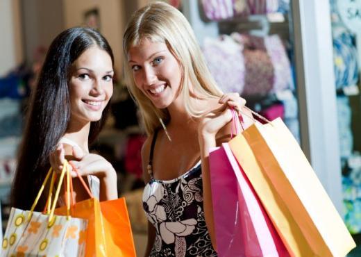 Mujeres que compran compulsivamente