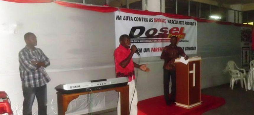 IURD de Luanda contra las drogas