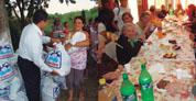 Una mano solidaria en el Conurbano Bonaerense
