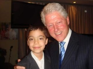 Con Bill Clinton