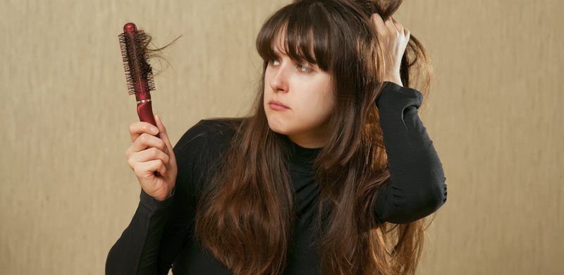Caída del cabello y pelo opaco