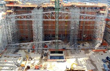 Templo de Salomón: 30% terminado y la obra avanza