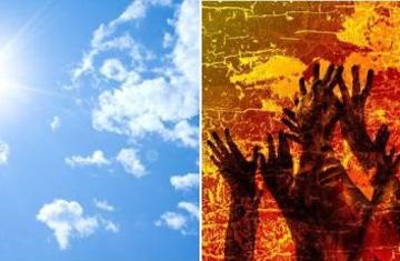 ¿Luz u oscuridad eterna? ¿Cielo o infierno?
